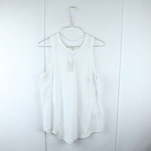 Madewell Linerunner Muscle Tee XS White NWT Tank